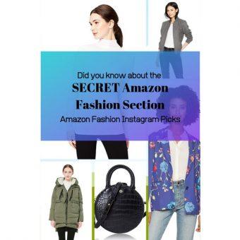 Amazon Fashion Instagram Picks Secret Amazon Fashion Section
