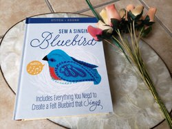 2019 Craft Books and Craft Kits Holiday Gift Guide sew a singing bluebird