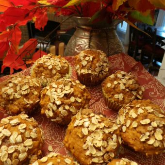 Best Ever Pumpkin Oat streusel Muffin Recipe