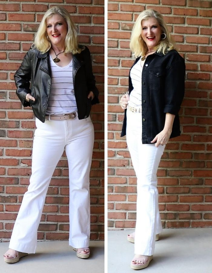 The Black Jacket Summer to Fall Transition Clothes